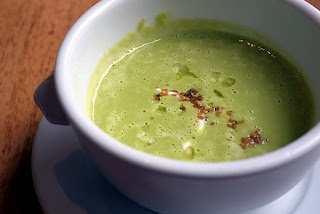 pea vegetarian winter soup recipe