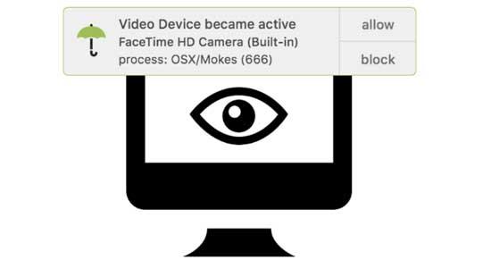 2016 Mailware attacked Mac via camera to recording