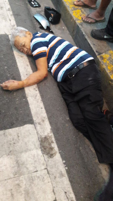 SHOCKING! Old Man Found Horribly Injured from Near Fatal Car Accident. Now Netizens Seek The Driver at Fault!