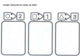 Atividades de matemática - Lógica: Confira essas atividades de matemática para educação infantil prontas para imprimir.