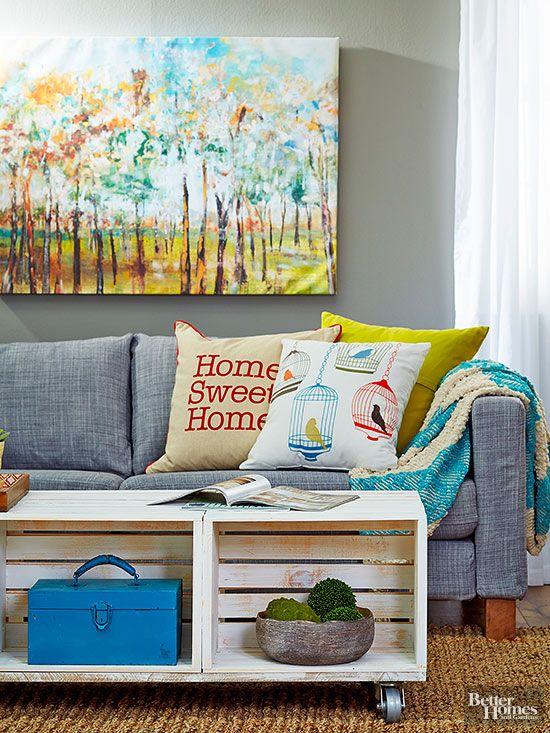 blog Achados de Decoração. Decoração com objetos inusitados na sala de estar