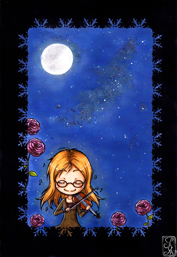 In the moonlight - Au clair de lune