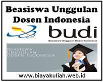 Beasiswa Unggulan Dosen Indonesia (BUDI) 2017/2018