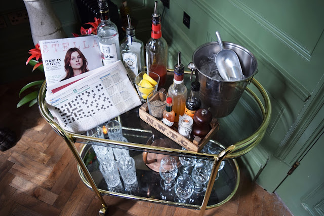 Bloody Mary Trolley