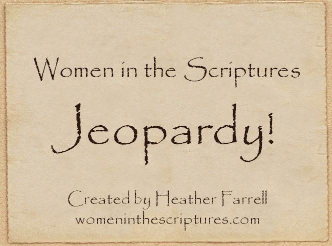 Women in the Scriptures: May 2014