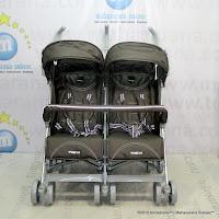 Kereta Bayi LightWeight BABYELLE S2500 Trevi Twin Grey
