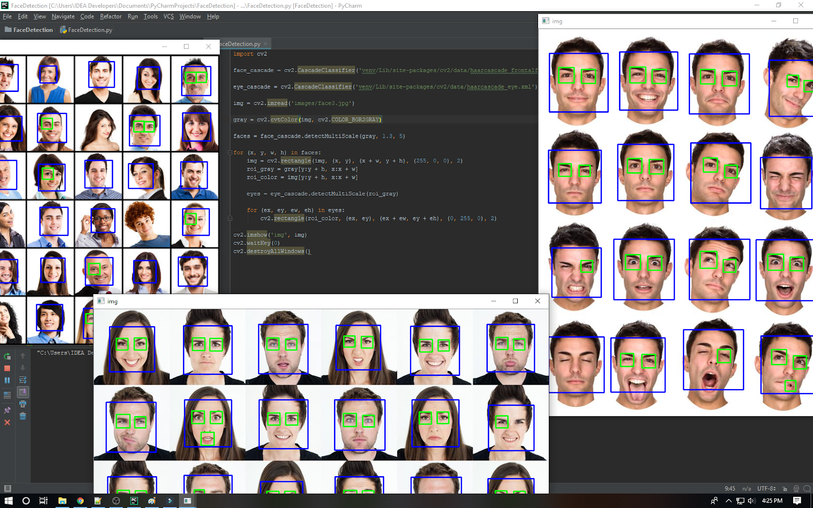 Build a Face Detection App in Python (OpenCV) - TeachMeIDEA - by