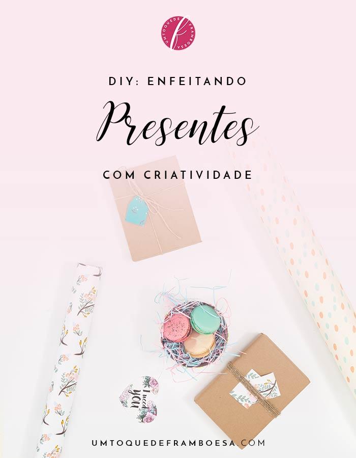 Veja neste DIY um tutorial de como enfeitar caixinhas de presentes de modo simples mas muito criativo