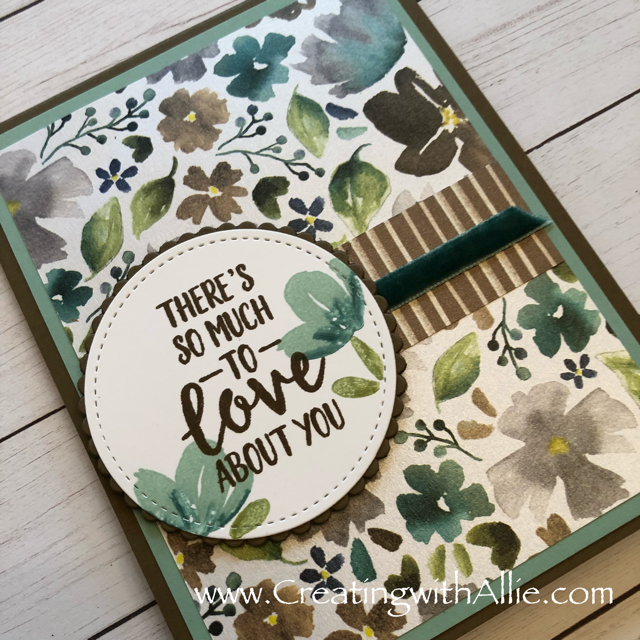 Check out the video tutorial showing you how to make a pop up greeting card, where I show you tips and tricks for using Stampin Up's Abstract impressions Bundle!  You'll love how quick and easy this is to make!  www.creatingwithallie.com #stampinup #alejandragomez #creatingwithallie #videotutorial #cardmaking #papercrafts #handmadegreetingcards #fun #creativity #makeacard #sendacard #stampingisfun #sharewhatyoulove #handmadecards #friendshipcards