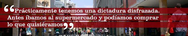 Vivir en dictadura sin saberlo