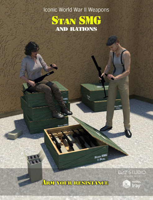 Stan SMG and Rations
