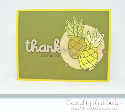 Thanks So Much card-designed by Lori Tecler/Inking Aloud-stamps and dies from Paper Smooches