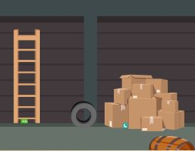 Play EscapeGamesZone Storeroom Rescue