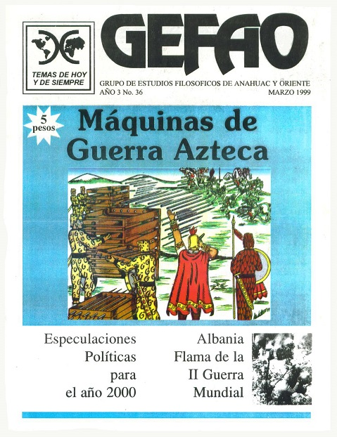REVISTA GEFAO MAQUINAS DE GUERRA AZTECAS