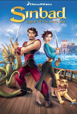 Sinbad Legend of The Seven Seas 2003 English 720p BRRip ESubs700MB