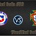 Prediksi Akurat Portugal vs Cili 29 Juni 2017