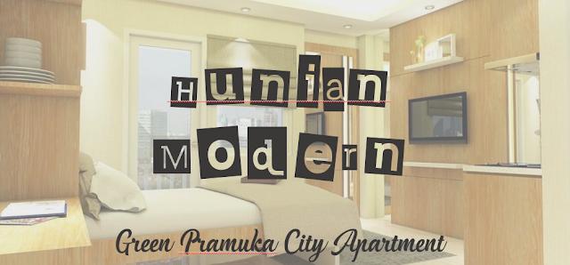 hunian modern green pramuka city