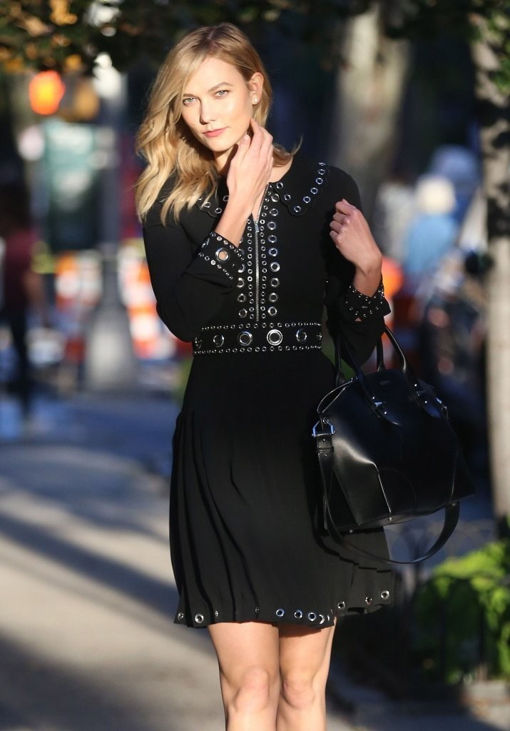 Karlie Kloss Wears Michael Kors Out in NYC