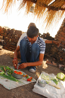 Food in Village, Indian Village