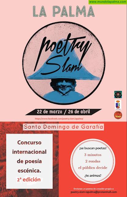 Garafía acogerá la segunda edición del PoetrySlam