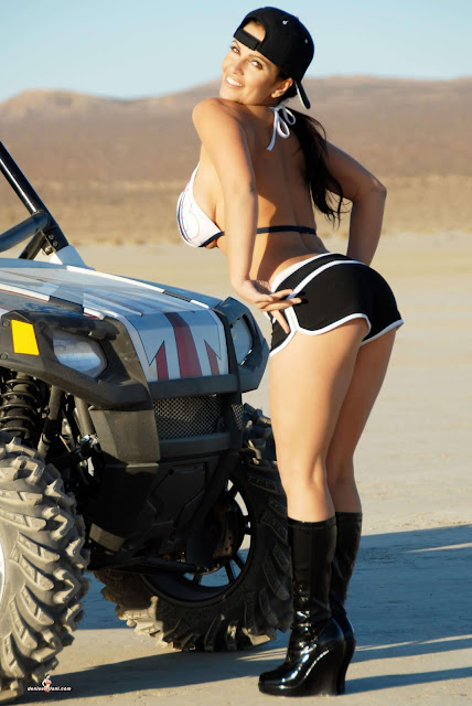 Denise Milani ATV hot and sexy Photoshoot picture 37