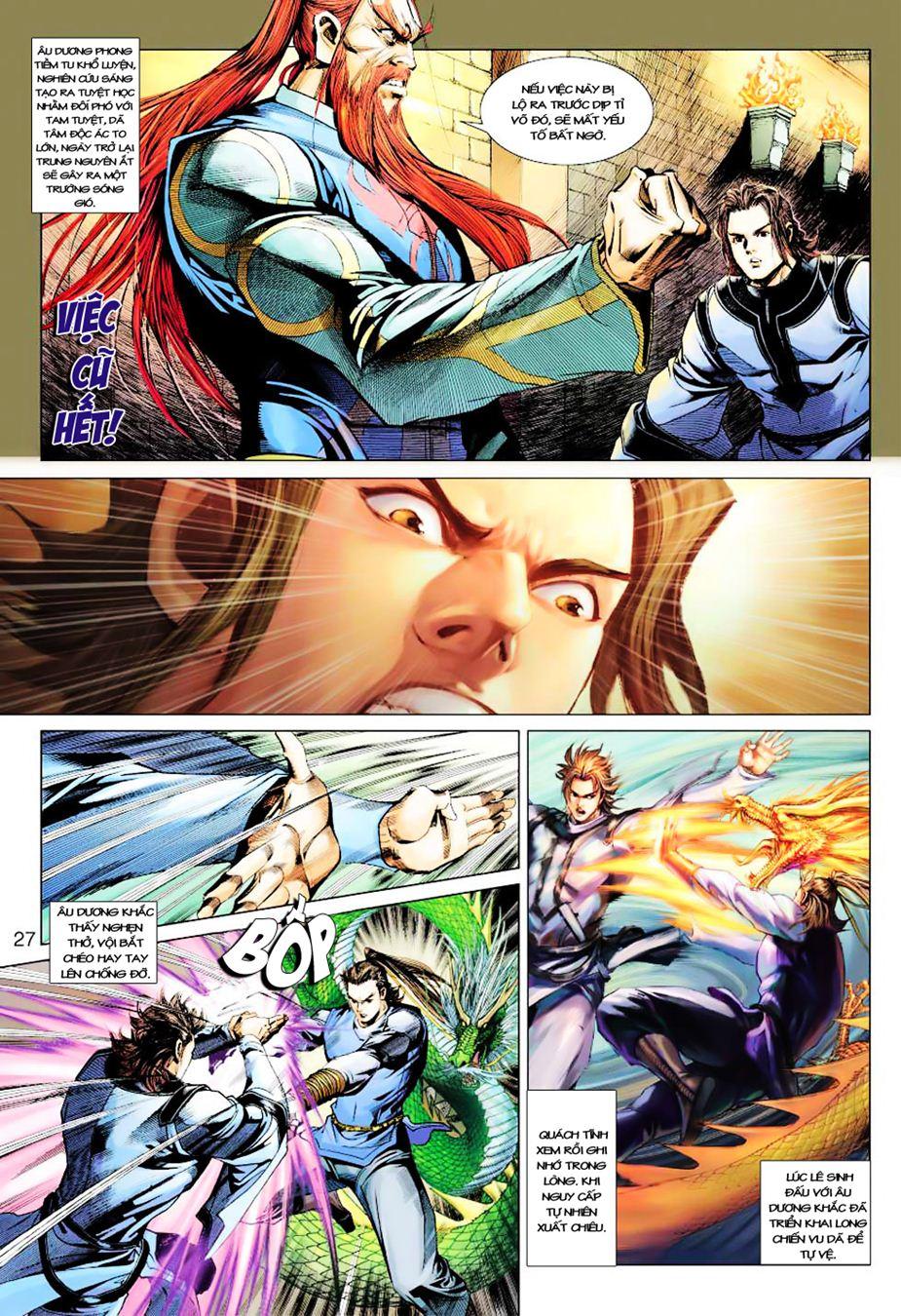Anh Hùng Xạ Điêu anh hùng xạ đêu chap 35 trang 27