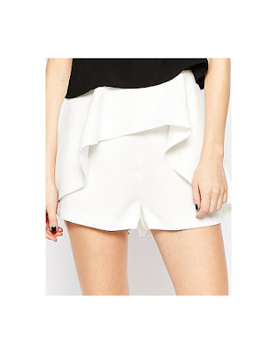 Speakerbox short in white, $72.79 from Finders Keepers