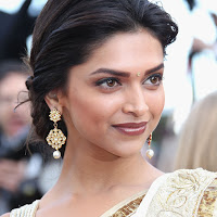 gorgeous splendid ornamental indian beauty Deepika padukone in saree