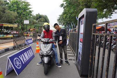 Test Ride Yamaha di BYMS 2019 Klaten