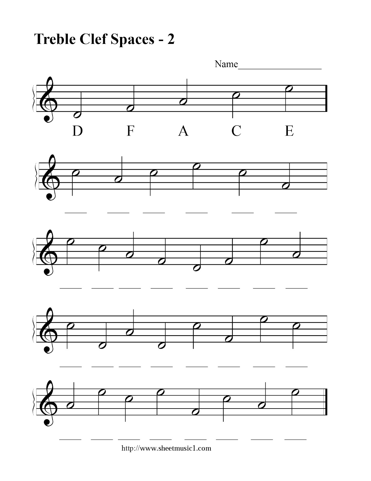 Miss Jacobson S Music Theory 6 Treble Clef Note Reading