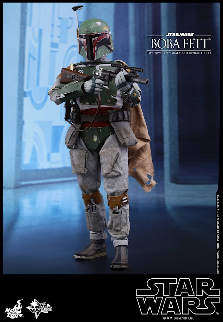 osw.zone Hot Toys SW: Episode V The Empire Strikes Back - 1/6. Scale Boba Fett collectible figure