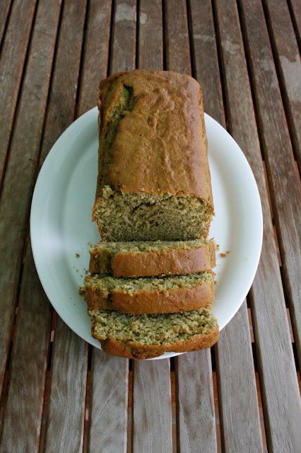 bizcocho de aguacate saludable para desayunar o merendar