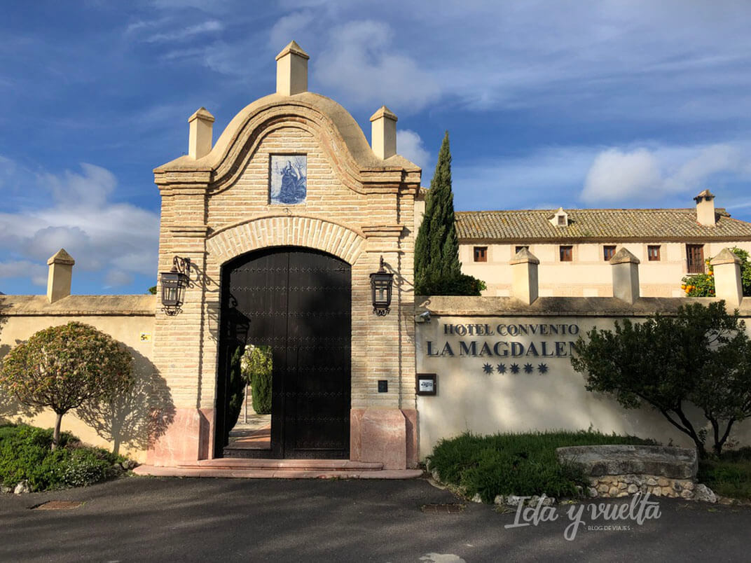Hotel Convento la Magdalena fachada