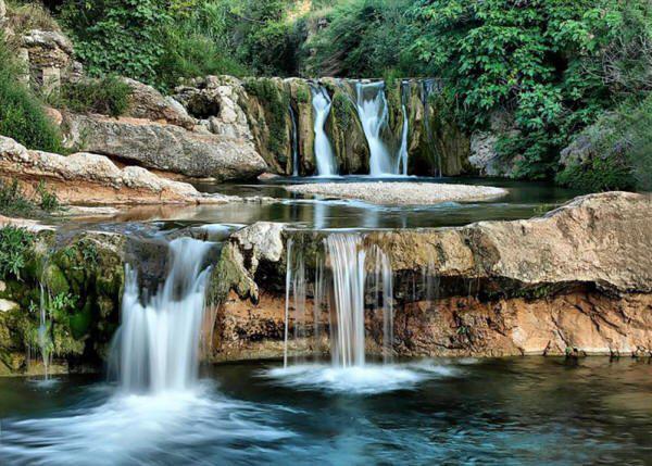 Agua sin filtros Agua con filtros Toll de Rabosa