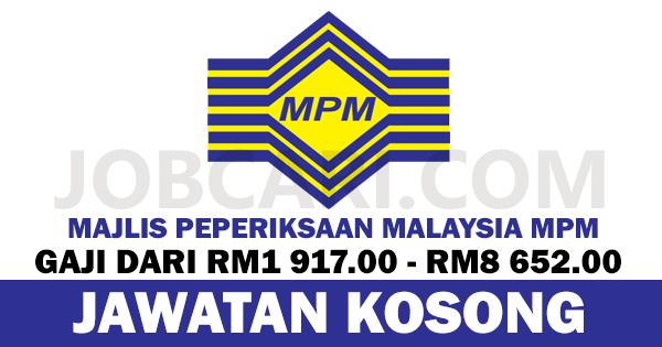 JAWATAN KOSONG DI MAJLIS PEPERIKSAAN MALAYSIA 2016 2017