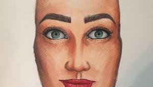 Tutorial Menggambar Wajah dengan Copic Marker