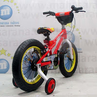16 pacific looney tunes bugs bunny lisensi bmx sepeda anak