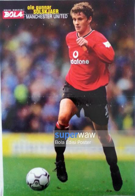 Poster Ole Gunnar Solskjaer (Manchester United)