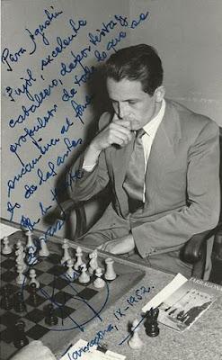 F. J. Pérez en Tarragona en 1952