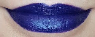 Avon mark. Epic Lip Lipstick in Blue Suede