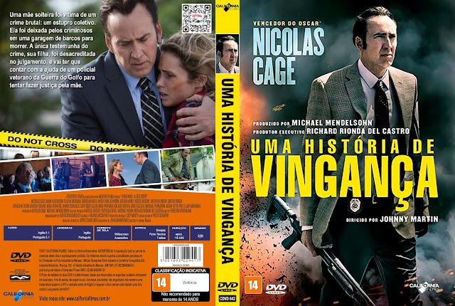 Capa DVD Uma História de Vingança [Custom]