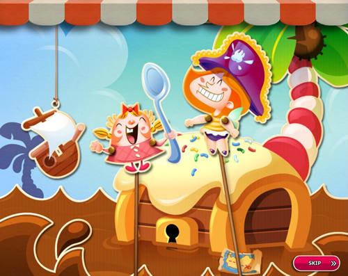 Candy Crush Saga level 2676-2690