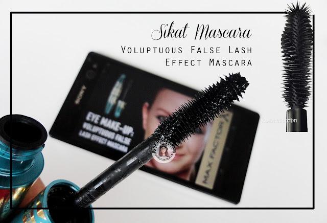Mascara+Voluptuous+for+volumizing+effect+review