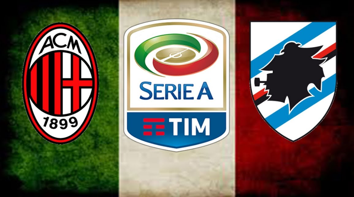 Dove Vedere MILAN SAMPDORIA Streaming Gratis Video Online Oggi
