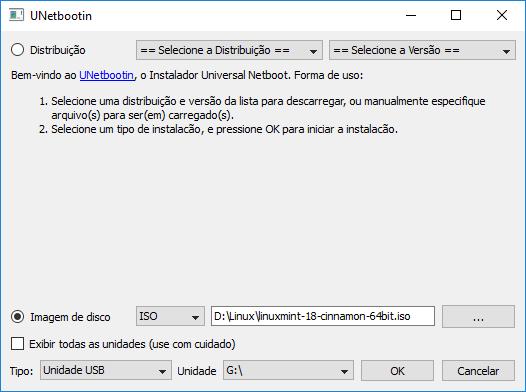 Linux Mint 18 - USB Bootável