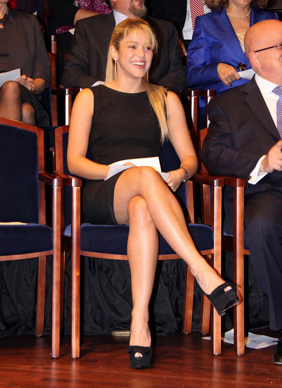 Remarkable, celebrity upskirt shakira