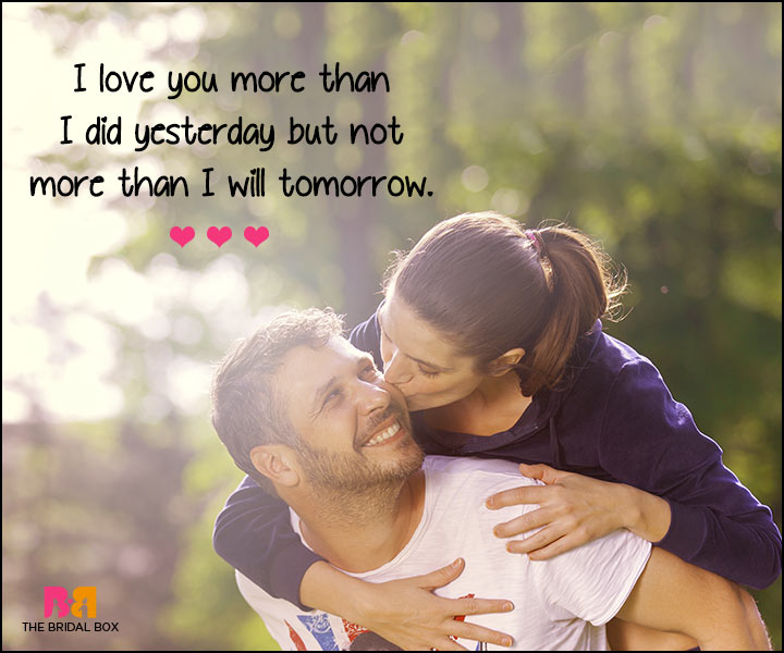 I love you so much sms