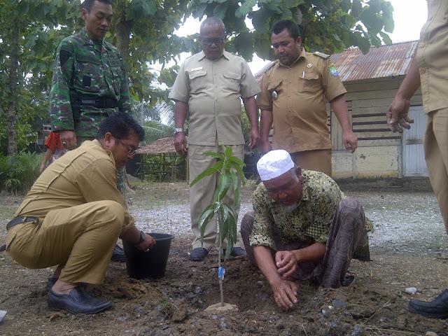 Pondok Pesantren di Abdya Terima Bantuan Bibit Mangga