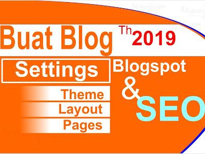 Membuat Blog Blogger (2019) dan Penggunaan Toolbar Google Posting #BARU