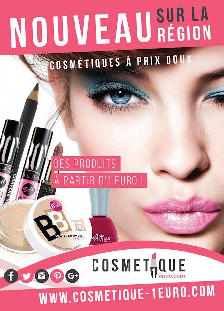 Atractivo flyer de cosmética